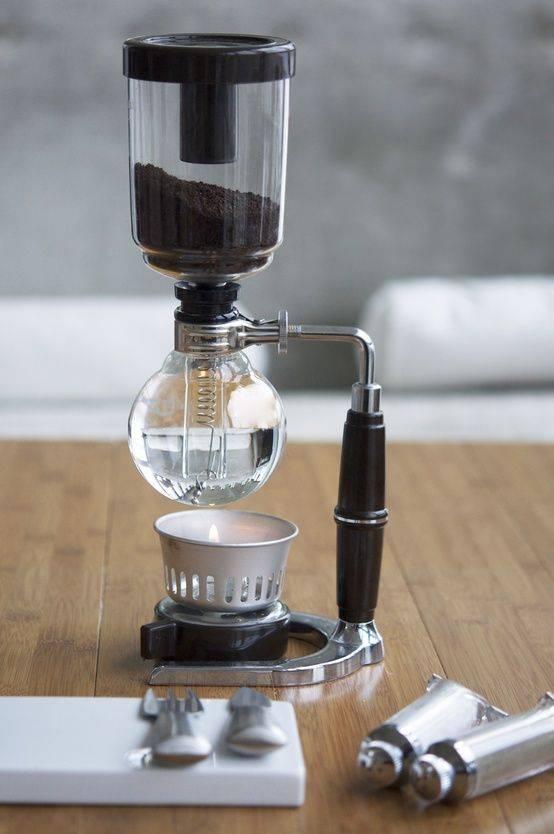 Как использовать габет – сифон для заваривания кофе