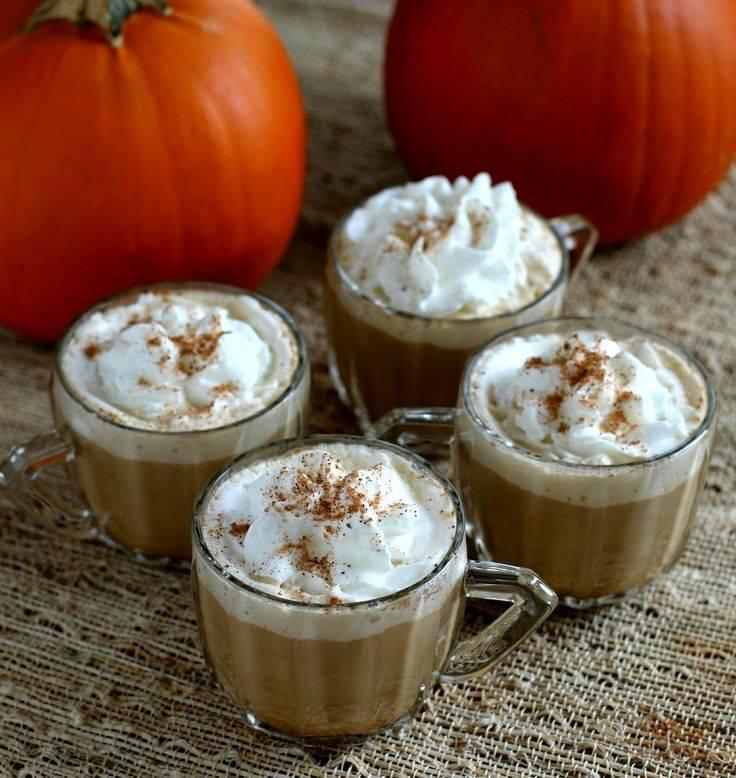 Рецепт pumpkin spice latte