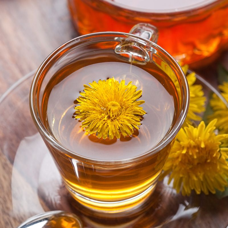 Чай из одуванчиков: польза и вред, как приготовить