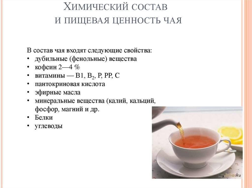 Сколько калорий в зеленом чае: с сахаром и без, с имбирем
