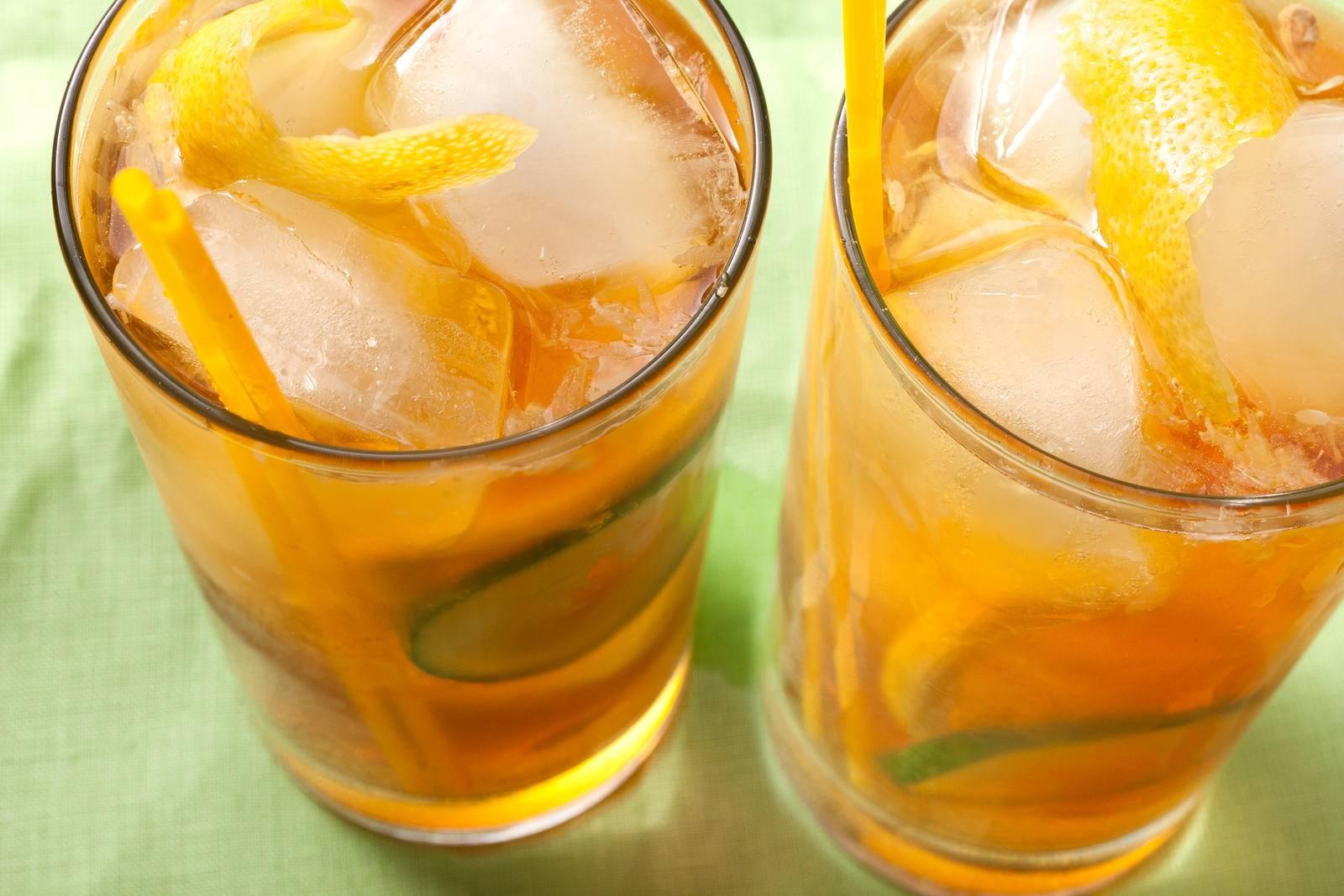 Домашняя фанта из апельсинов и лимона