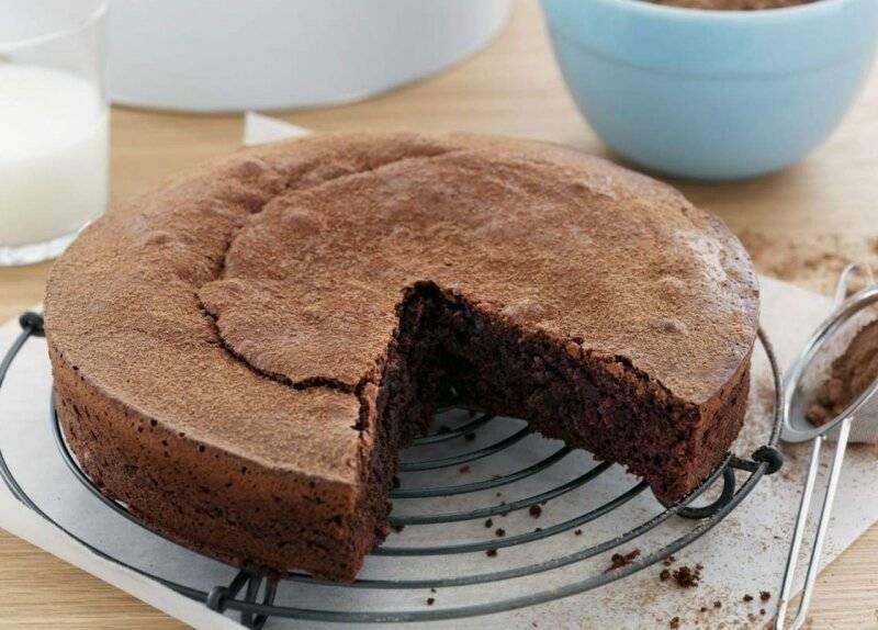 Классический шоколадный бисквит - пошаговый рецепт с фото