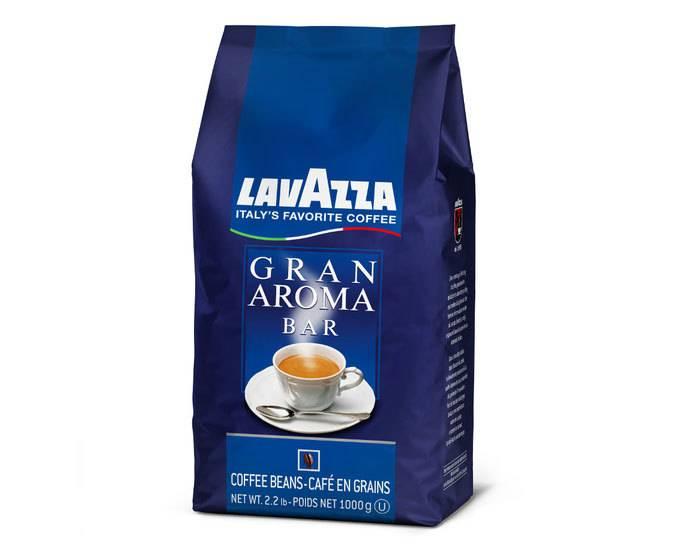 Виды кофе lavazza