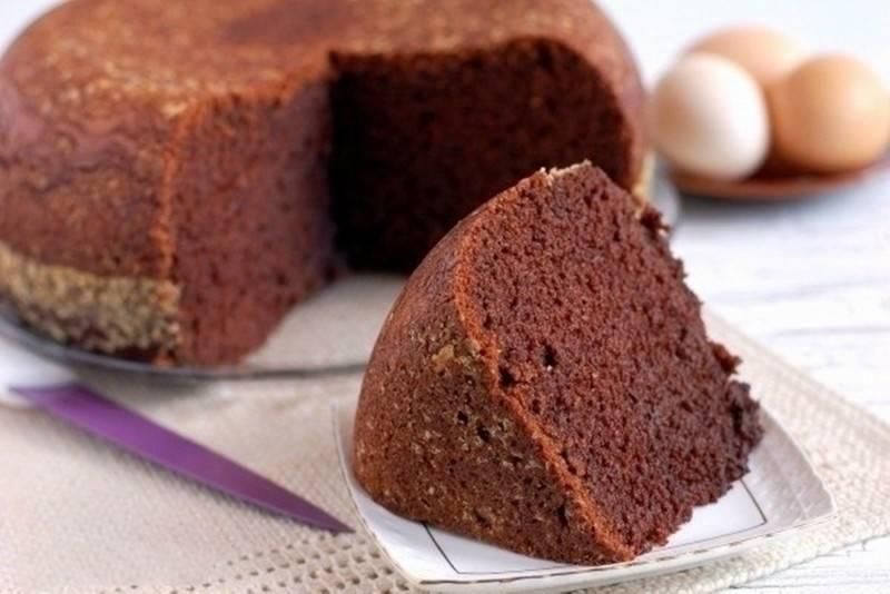 Пышный и простой шоколадный бисквит для торта — удачные рецепты мягких коржей. видео-рецепты — vranya.net