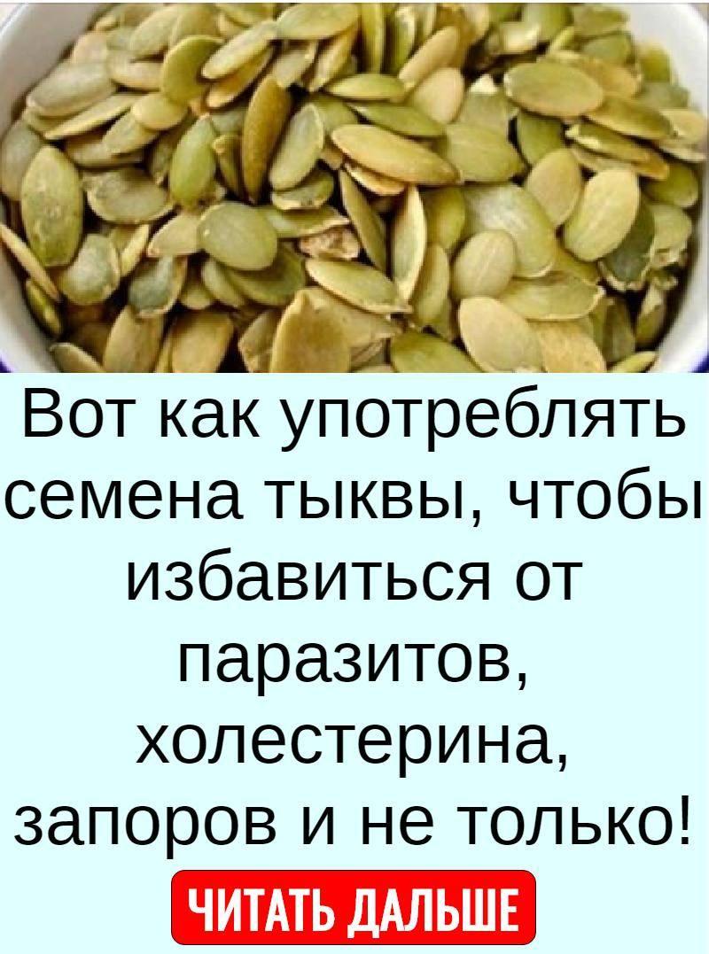 Польза тыквенных семечек для организма женщины