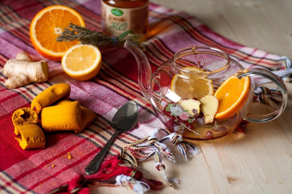 Применение имбиря, корицы, меда и лимона для похудения