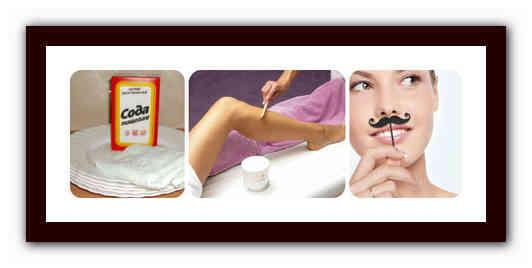 Удаление волос содой на лице и теле: способы, эффективность