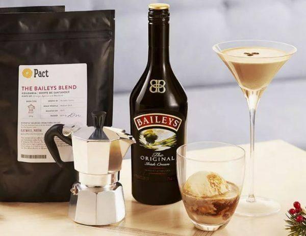 Рецепты кофе с ликером