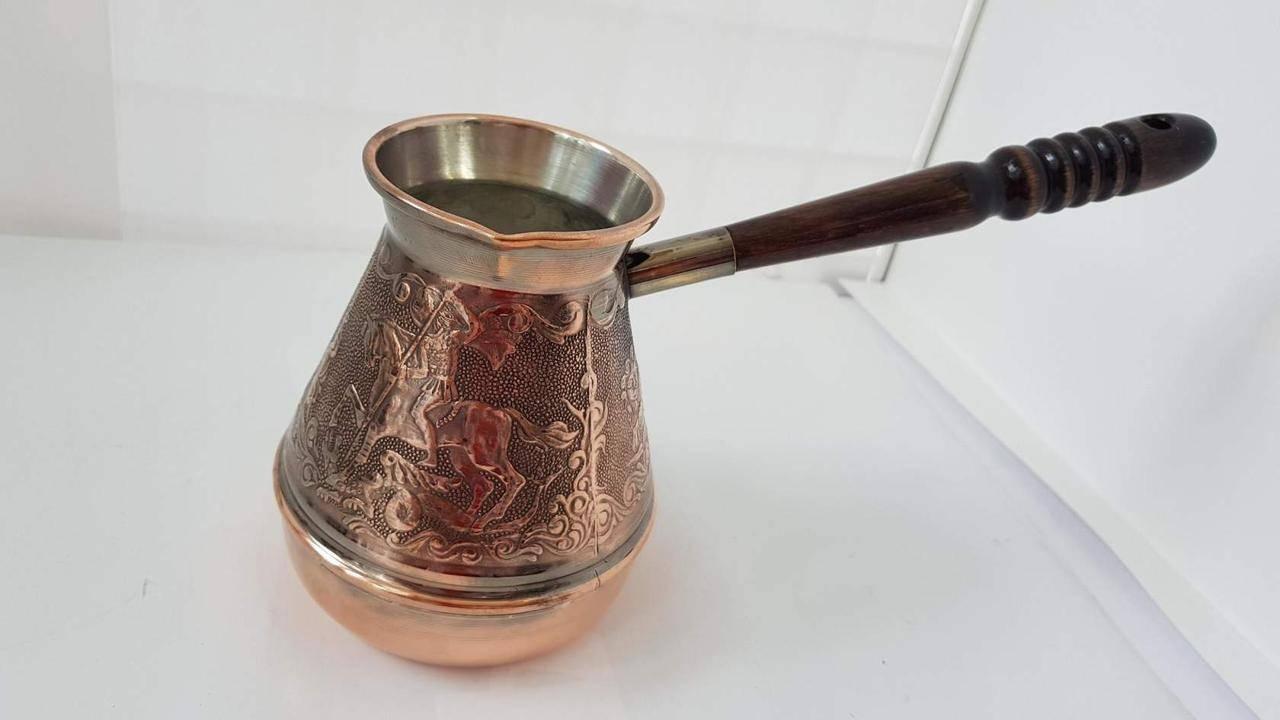 Турка медная jezva coffee 230 мл