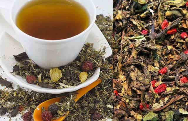 Земляничный чай – польза и вред, полезные свойства чая из земляники