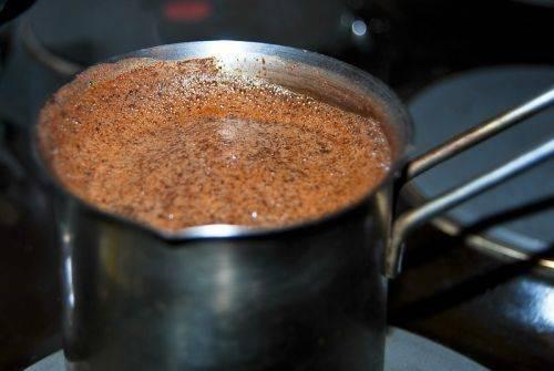 Рецепт как варить кофе в кастрюле на плите | портал о кофе
