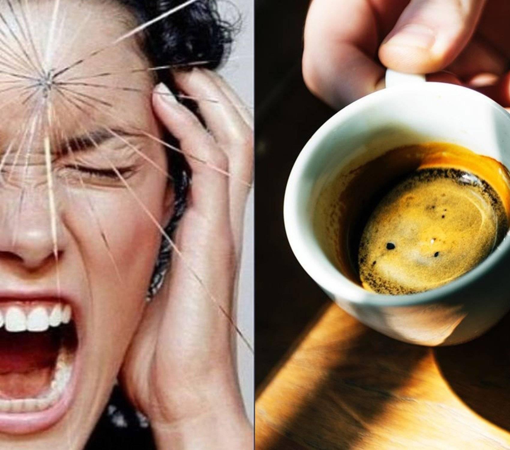 Поможет ли кофе при головной боли