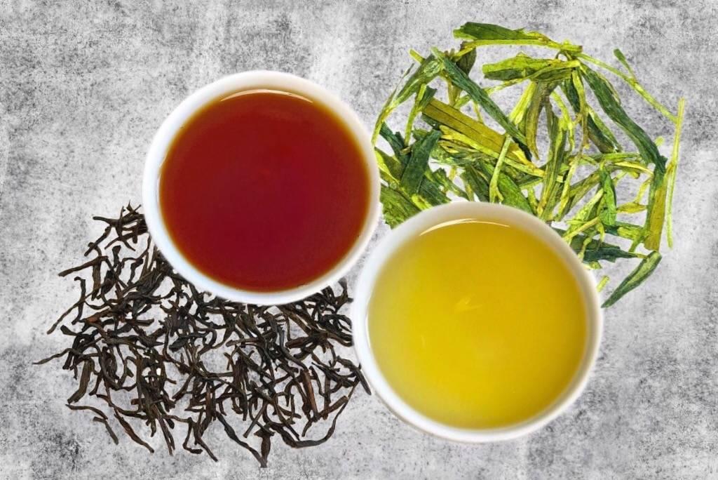Какой чай полезнее: черный или зеленый, чем они отличаются