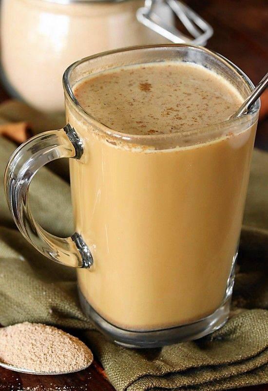 Чай латте или как сделать модный напиток у себя дома