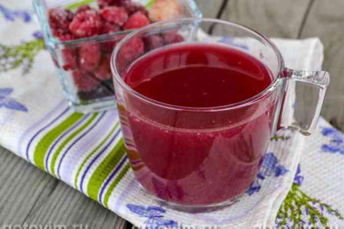 Кисель из смородины – вкусный десерт из свежих или замороженных ягод