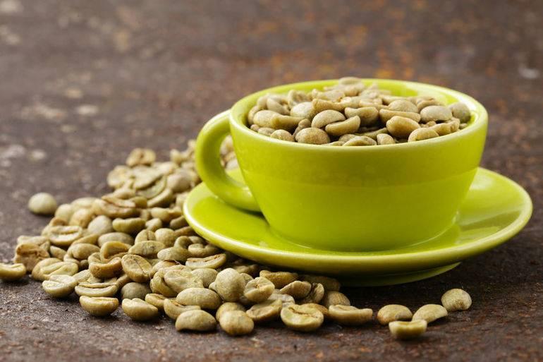 Польза и вред зеленого кофе для похудения