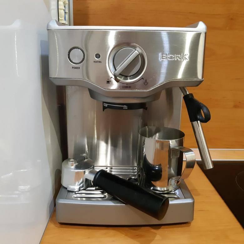 Обзоры кофейной техники bork