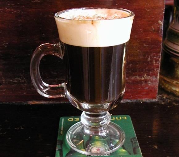 Кофе по-ирландски: история напитка, калорийность, лучшие рецепты
