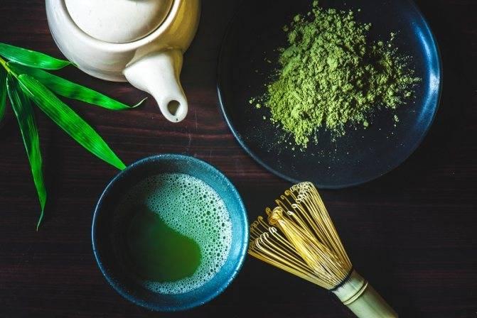 Японский зеленый чай матча: польза и вред для здоровья