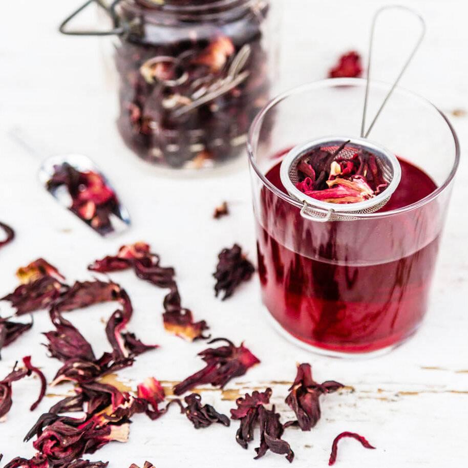 Каркаде чай: полезные свойства и противопоказания, влияние на организм
