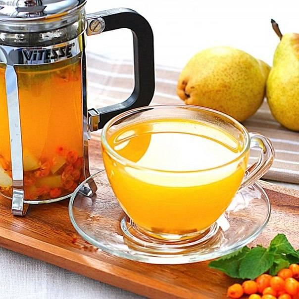 Чай из облепихи – напиток для зимних вечеров