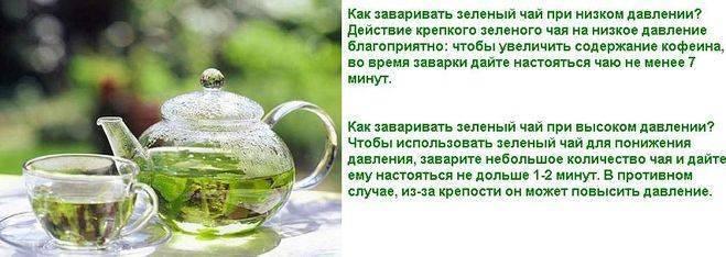 Зелёный чай для потенции