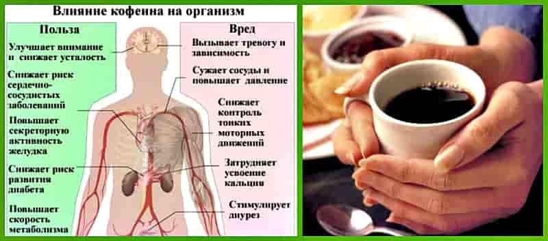 Что же будет если пить много кофе мужчины и женщине?☕