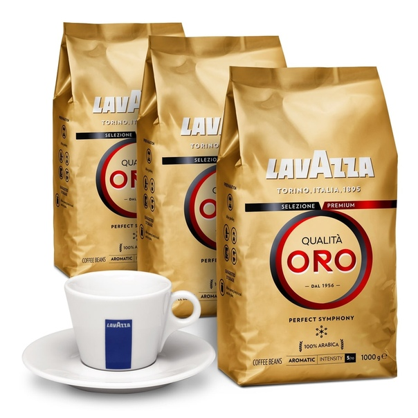 Кофе lavazza oro