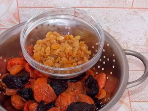 Компот из кураги - польза, вред и рецепты с черносливом, изюмом, яблоками и финиками
