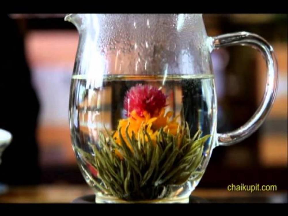 Связанный чай – цветочный чай