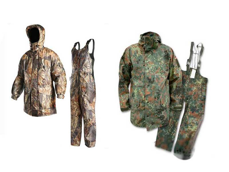 Правила выбора одежды для охоты и рыбалки