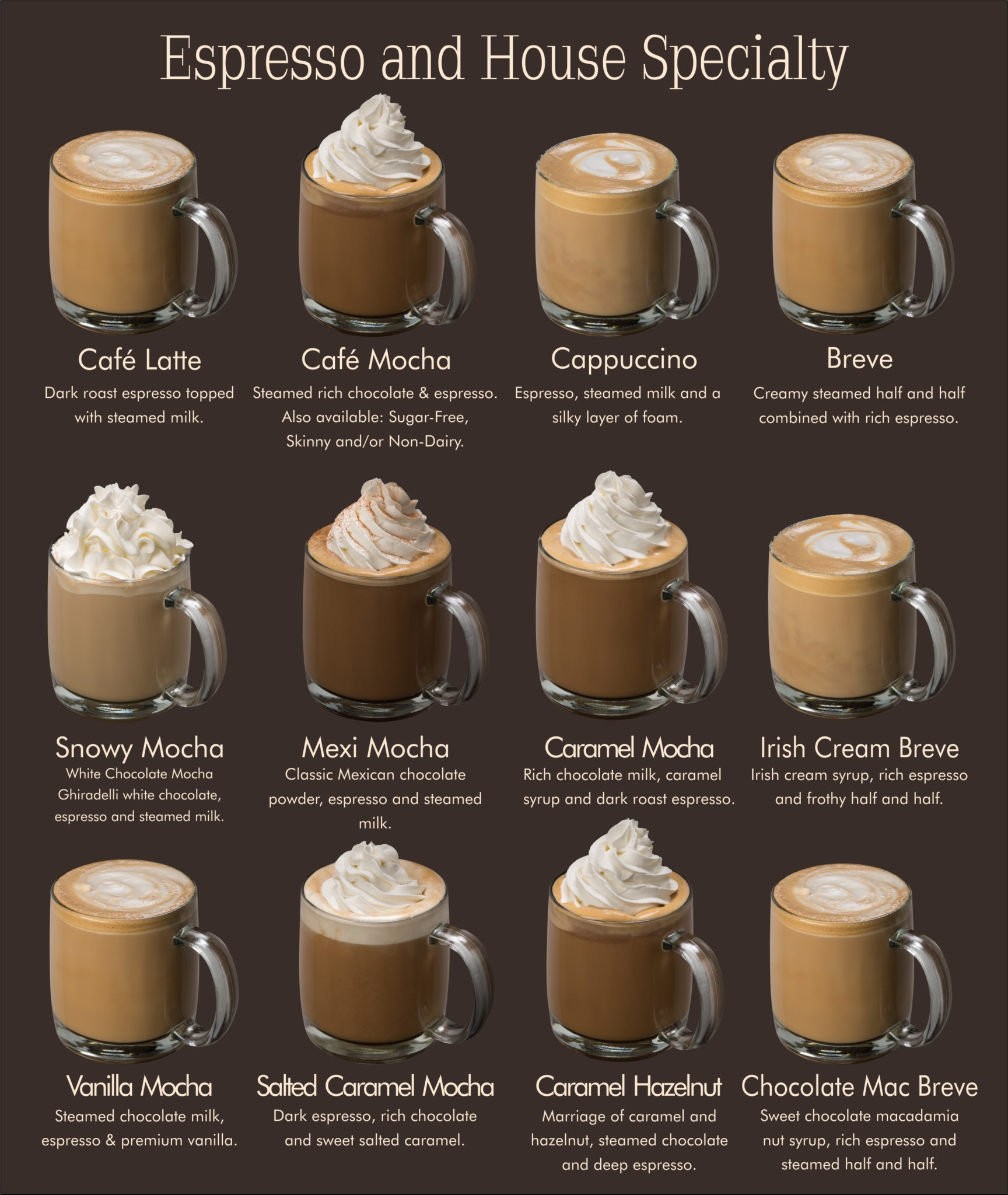 Рецепты кофе бреве – идеальный баланс кофейно-молочного вкуса