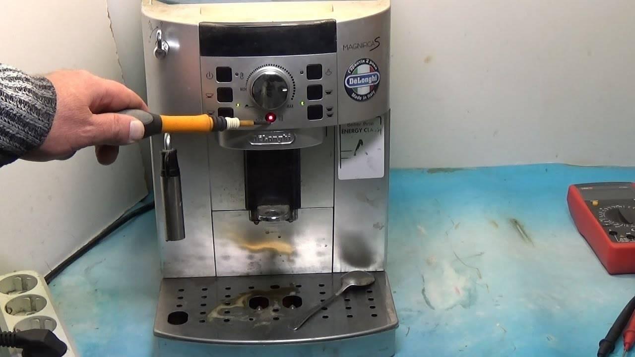 Удаление накипи в кофемашине, декальцинация (видео)