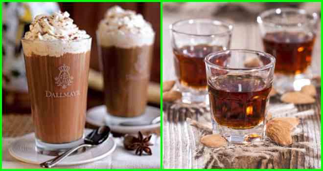 Кофе амаретто: рецепты, кофе с ликером бейлис