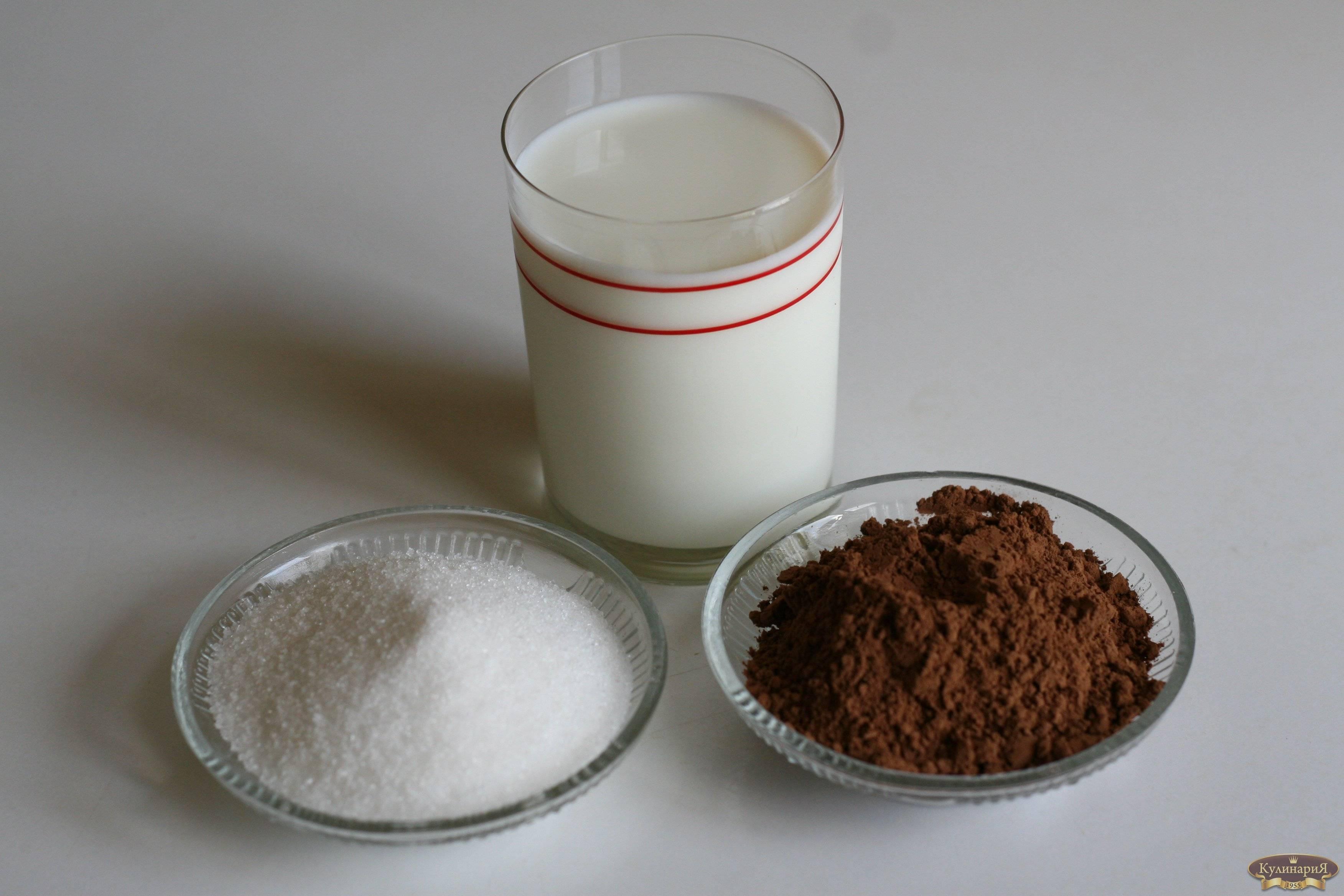 Как сварить какао из порошка на молоке — 7 пошаговых рецептов