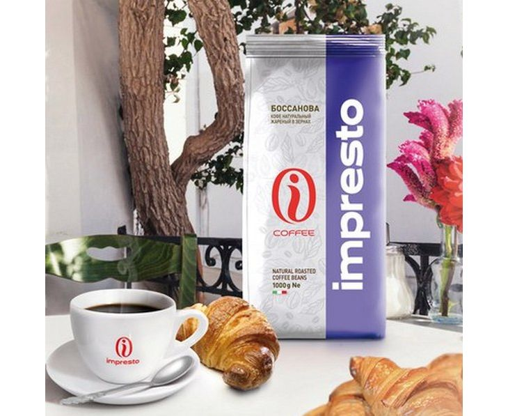 Кофе в зернах impresto espresso classic 200гр
