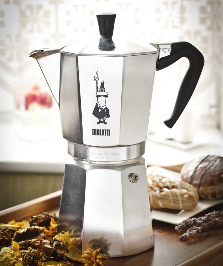 Описание и принцип работы гейзерной кофеварки