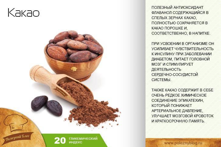 Какао: что это такое, виды, состав и полезные свойства, фото