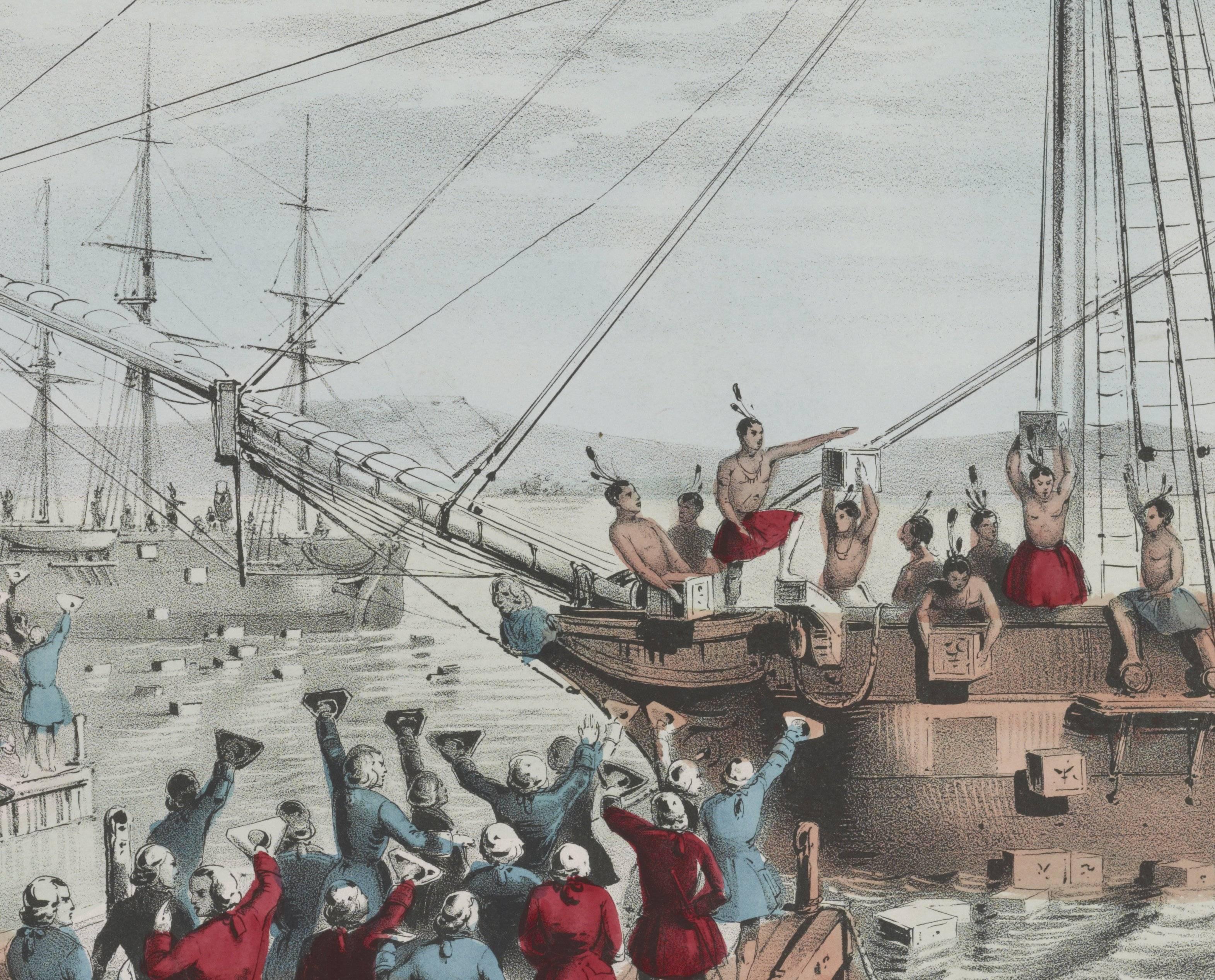 Что такое бостонское чаепитие 1773 года. краткая история