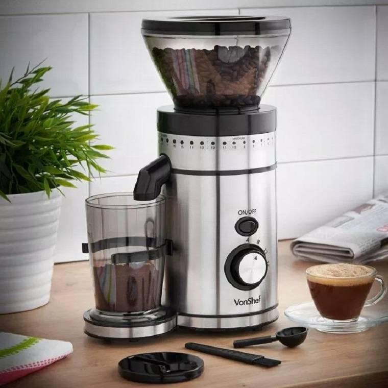 Кофемолка жерновая: ротационный нож, ручная роторная что это, в чем разница