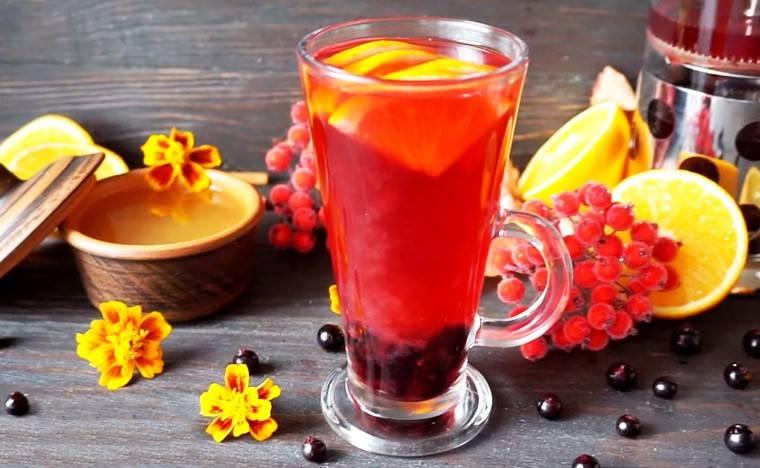 Витаминный чай для иммунитета для детей