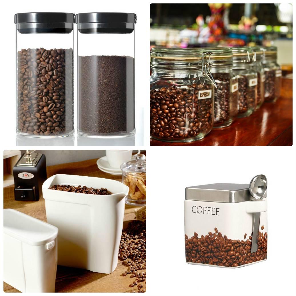 Как правильно и где хранить кофе, полезные советы, информация о сроках хранения