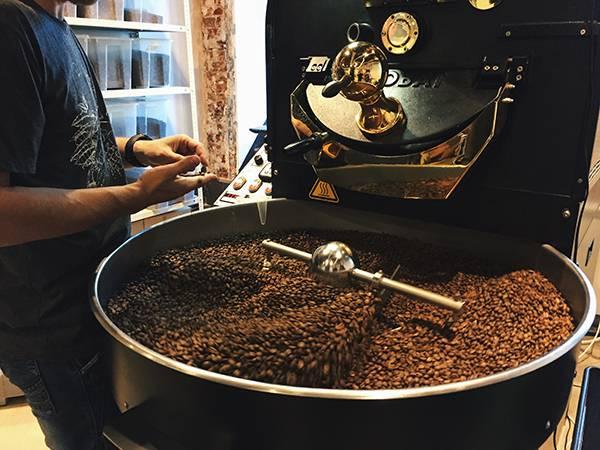 Виды обжарки кофе