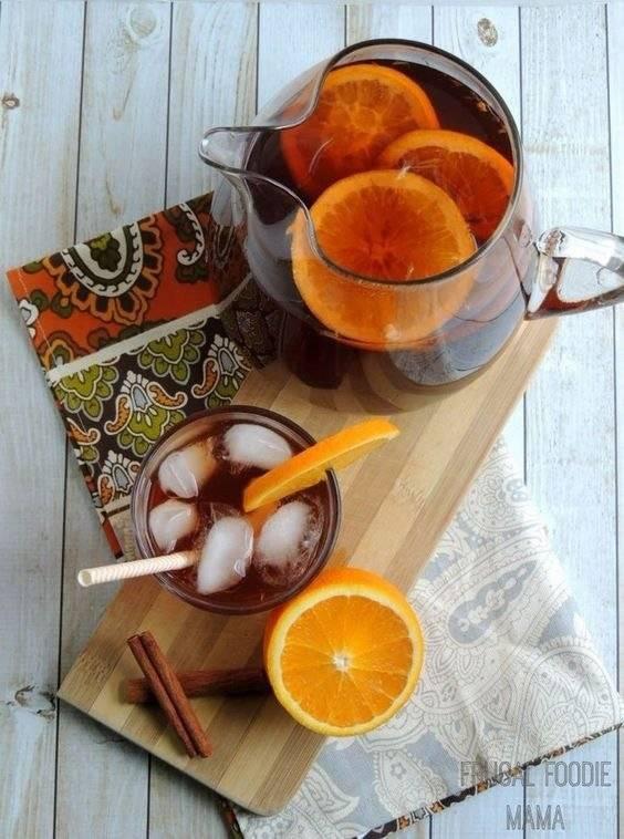 Рецепты холодного чая | сайт о лимонах
