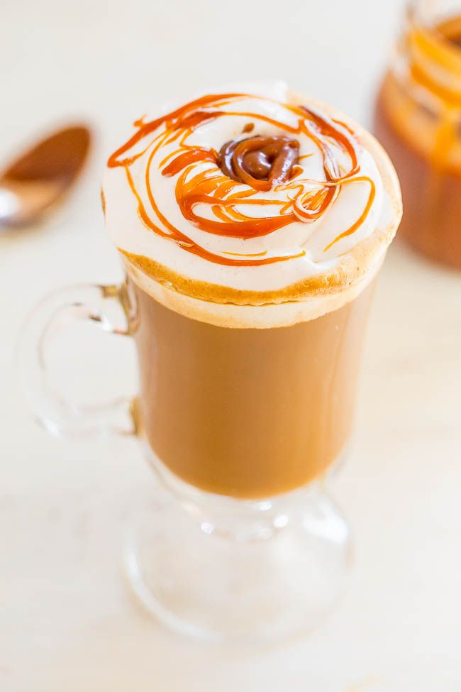 Мягкий кофе с карамелью
