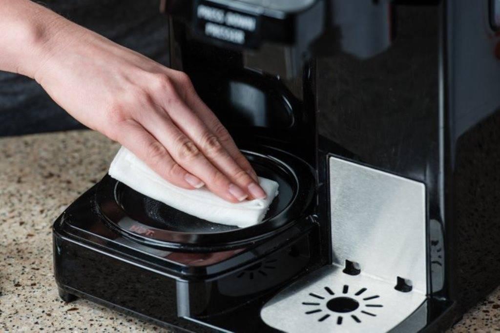 Как почистить кофемашину — способы чистки (накипь, лимонная кислота)