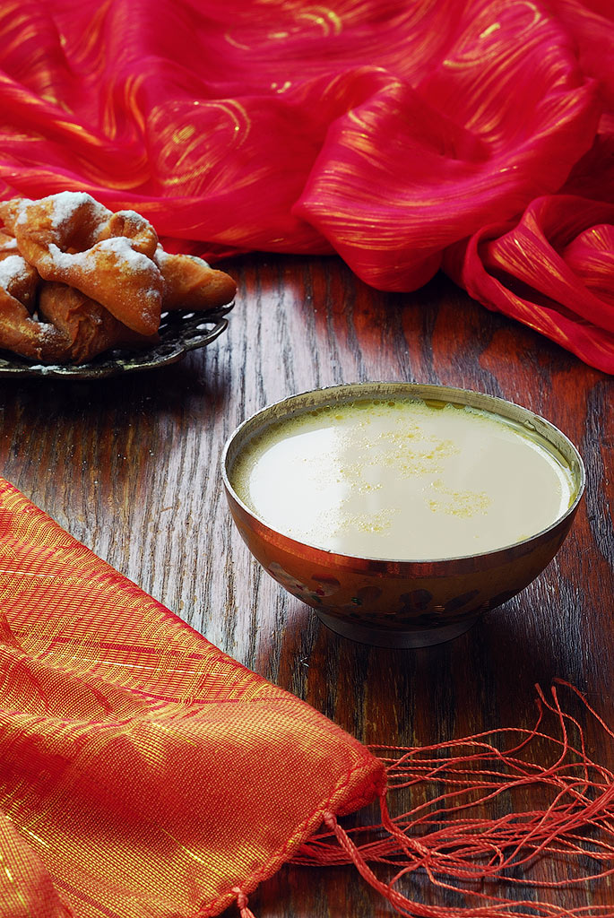 Атканчай – рецепт чая по-уйгурски с молоком и солью