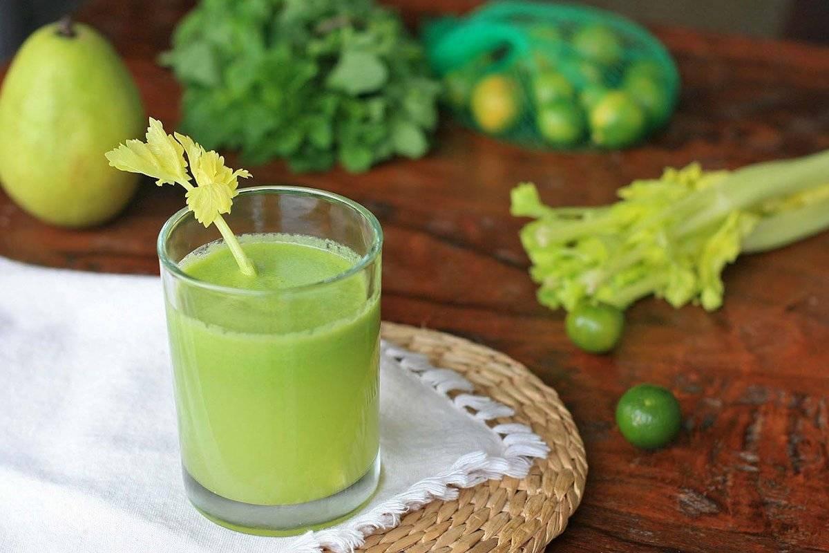 Cмузи из сельдерея - полезные рецепты для блендера