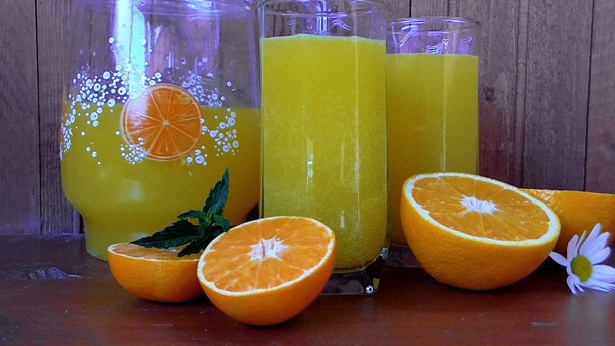 Домашняя фанта из апельсинов – рецепты с газировкой и без