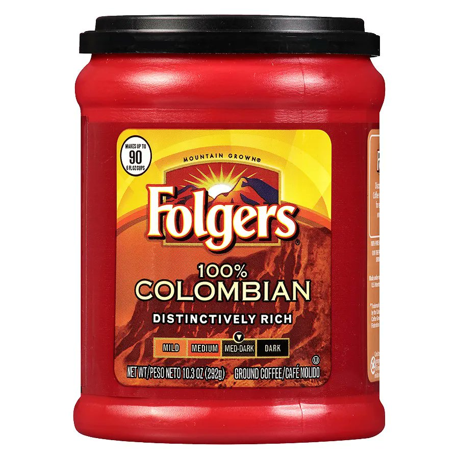 Американский кофе folgers